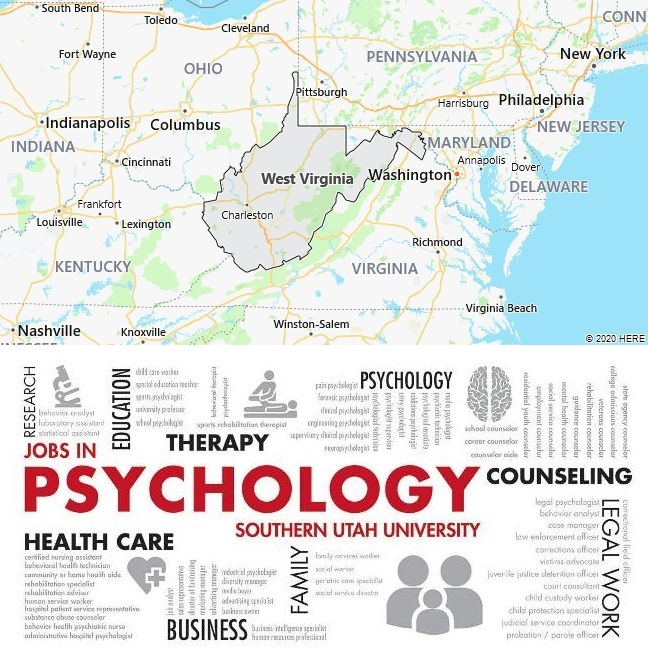 Top Psychology Schools in West Virginia